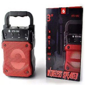 KTS-1092 Portable Wireless Bluetooth Speaker.