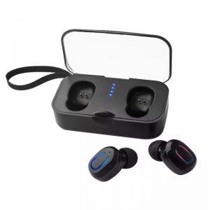 T18S TWS 5.0 Wireless Bluetooth Earphones Sports Earbuds Wireless Headset Portable Earphone with Charging Box Charging
