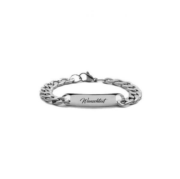Engraved Plate Bracelet