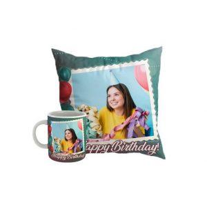 Custom Mug and Pillow for Birthday