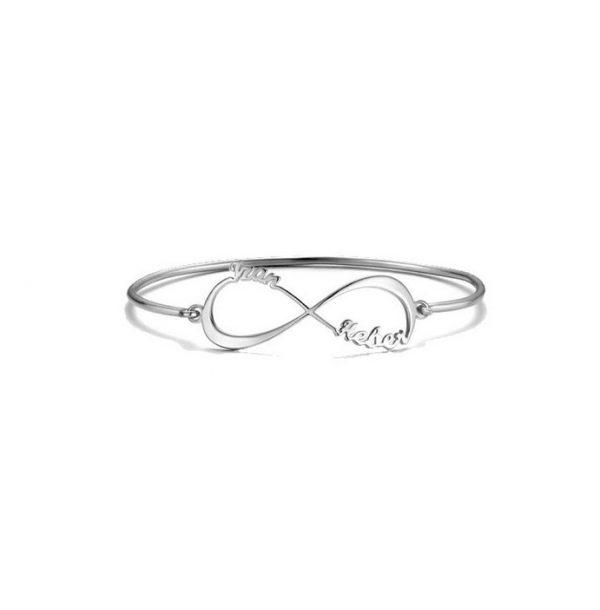Infinity Custom Name Bracelet